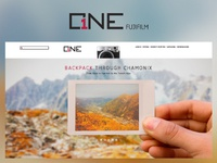 Fujifilm One Website