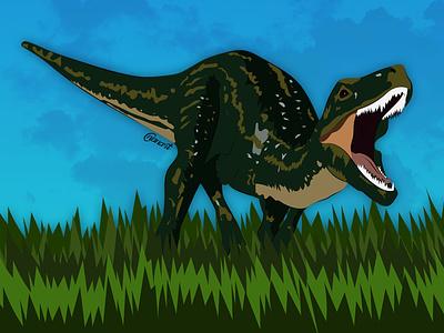 Dinosaur vector art vector typography texture illustration illustration digital drawing digital painting digitalart digital artwork
