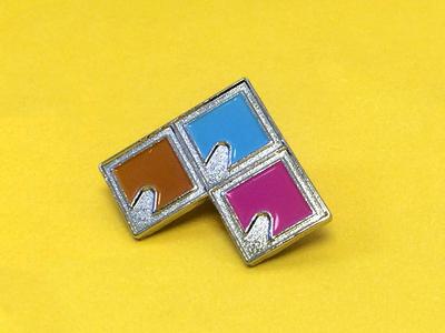 Holy Trinity enamel pin