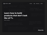 Locallabs Homepage