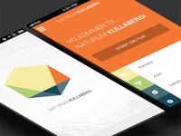 Kullaberg mobile application