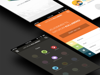 Filter page app iphone iphone app ios7 flat flat design feed concept filter