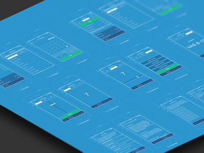App Blueprint wireframes blueprint app app design layout ios iphone mobile application ios7
