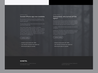 Footer concept