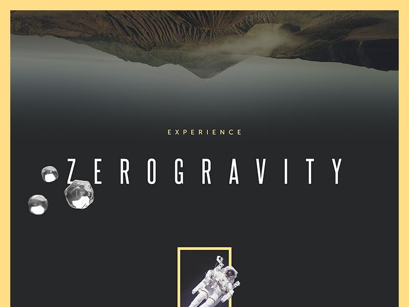 Zero gravity concept water 3d web ui flat concept wip website landing webpage space campaign