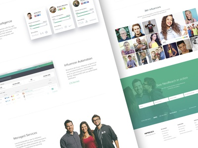 Website Snippet footer form sign up clean site design marketing landing page web website