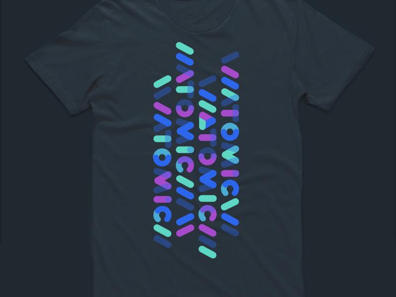 Atomic tees type atomic swag tee tshirt