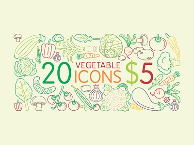 20 Icons for $5