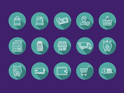 Icons Free Ecommerce icons icon set free icons ecommerce eshop