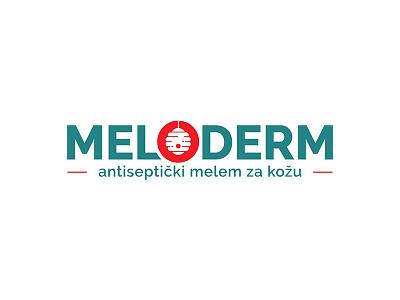 Logo Meloderm logo designer logo design