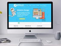 Apollo Web Studio Home Page Hero