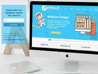 Apollo Web Studio Landing Page