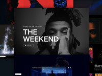 The Weekend Concept Page design with STUDIO