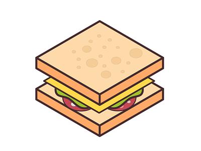 Isometric food icon 01 beginner design icon design food