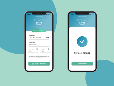 Credit card Checkout checkout creditcard squirrel dailyui credit card checkout app uidesign beginner