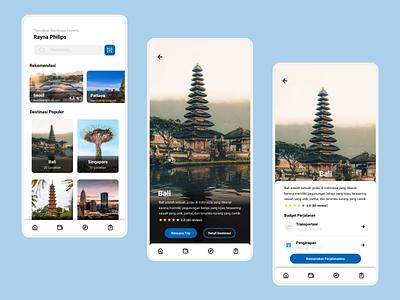 Travel App dailyui travel travel app mobile app uidesign ui