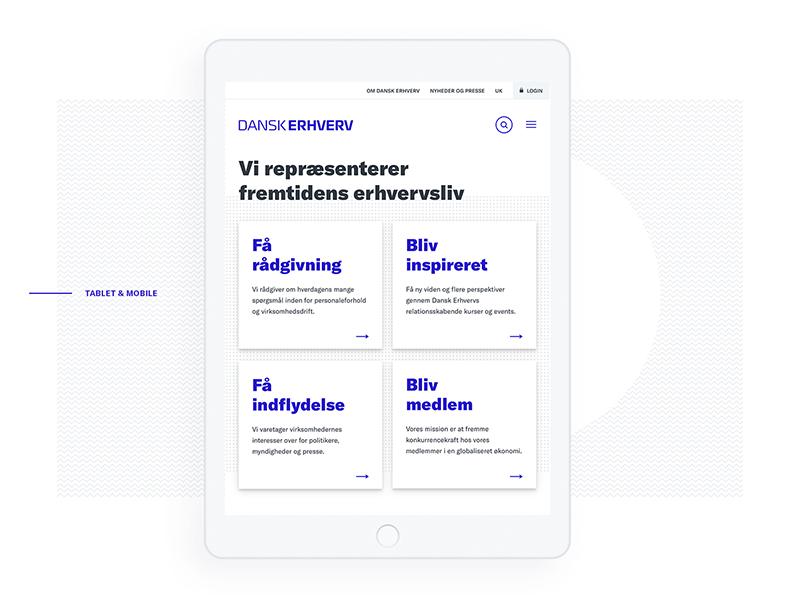 Charlie Tango / Projects / Dansk Erhverv | Dribbble