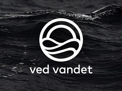 ved vandet logo identity branding