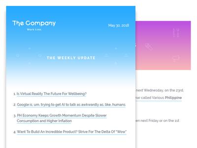 "Newsletter ""The Company Cebu"""