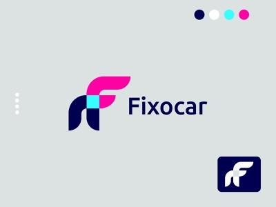 F letter mark logo minimalist logo modern minimal branding modern logo design logo design