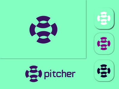 Pitcher logo design brand identity logo folio logo art graphic design motion graphics logo inspirartion logo maker logo type logo design app icon logo design minimalist logo modern logo design branding modern logos