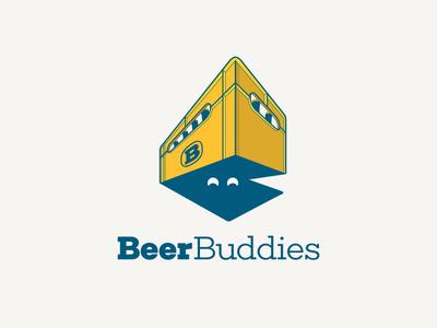 BeerBuddies beer bar drink app ios logo social