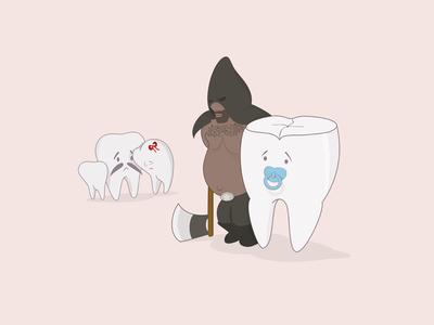 Gigi Bungsu graphicdesigncentral arts-mag art picame thedesigntip digitalart vector ilustration dentist teeth tooth