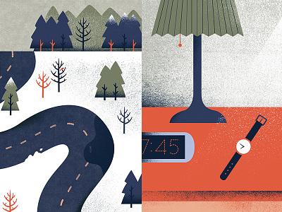 Snippets illustration snow