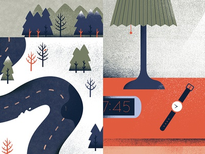 Snippets illustration snow