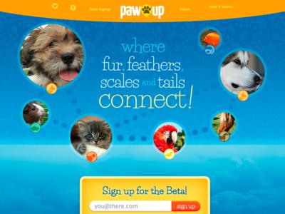 PawUp Beta Sign Up