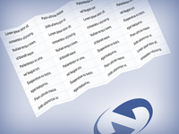 HTML/CSS Fold Demo