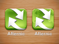 Afternic App Icon Choices