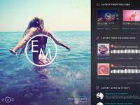 Eton messy homepage