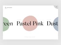 Colour Selector - Pastel Paradise
