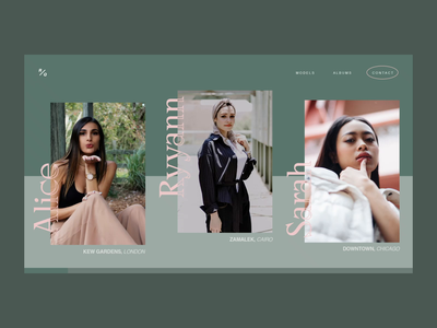 Fashion Photography Colour Slider interface serif fashion web minimal typography clean website web design ui