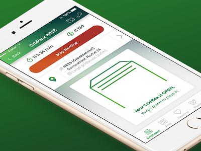 Gridbox App & Responsive Website gradient flat website ui userexperience ux ebike technology platform