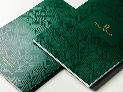 Stationery Folders Design brand identity logo branding stationery print
