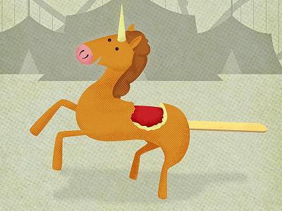 Unicorndog illustration unicorns