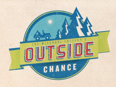 Outside Chance logo ranger jeep