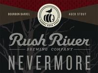 Rush River Nevermore Label