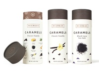 Caramel packaging
