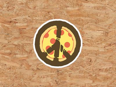 🍕✌️ ✌️ 🍕 peace pizza