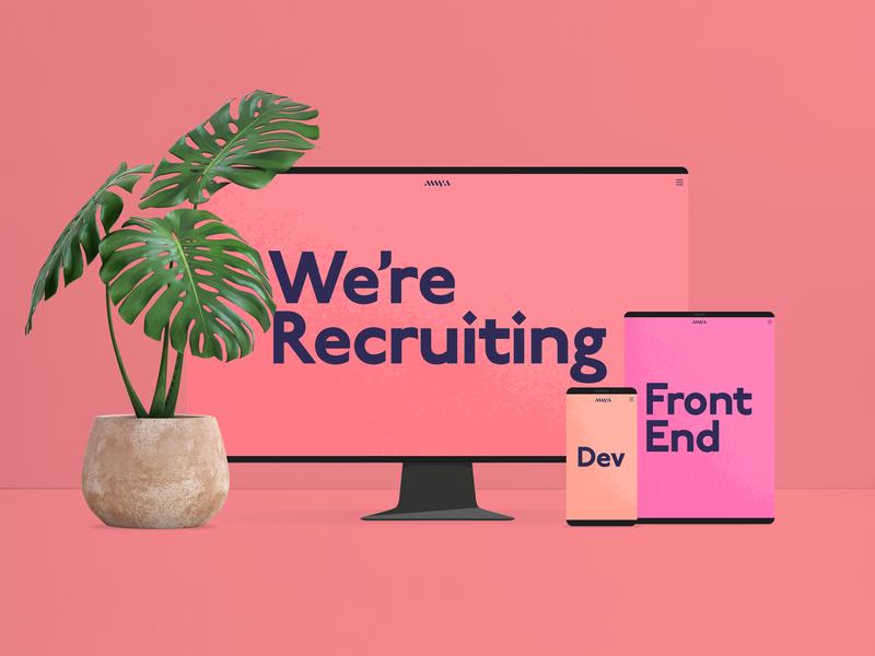 We're Recruiting! java php scss job front end dev front end laravel css web development web developer web  design bristol