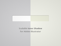 Scalable Inner Shadow for Adobe Illustrator