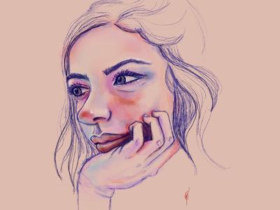 Portrait Practice procreate illustration portrait