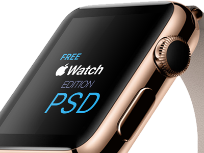 Apple Watch Free PSD