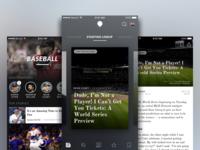 Sports Blog App