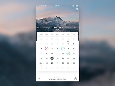 Calendar - Light calendar app calendar ios ios app ios calendar
