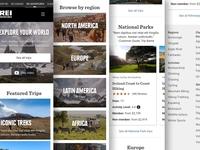 REI Adventures Homepage