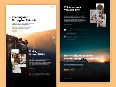 Mariposa SPCA (Dribbble Design Challenge) spca non-profit epicurrence ux ui web design figma dribbble